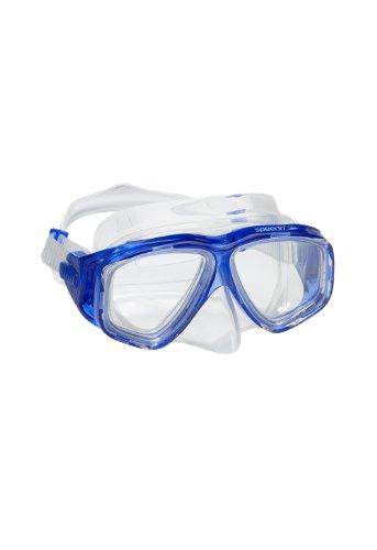Speedo Unisex-Youth Adventure Swim Mask Junior , Blue