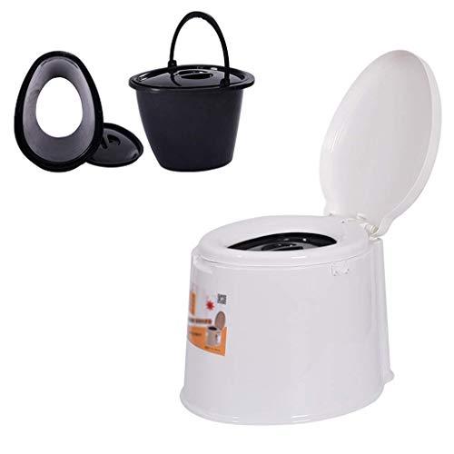 Pratico Comodo WC da Campeggio WC Portatile TY, WC Pieghevole Portatile, WC da Campeggio all'aperto, WC Portatile da Viaggio Portatile per Donne Incinte (Dimensioni: 3) Facile da Usare
