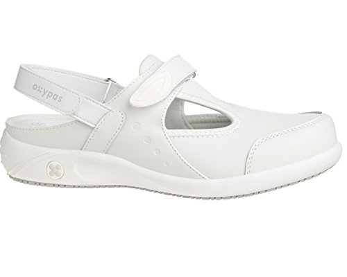 Oxypas Move Carin Slip-resistant, Antistatic Nursing Shoes, White (Wht) , 5 UK (EU: 38)