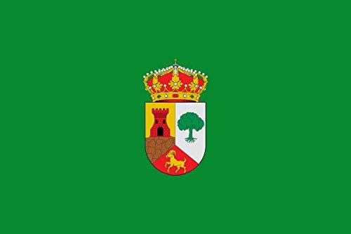 magFlags Bandera Large Municipio de Peralveche Castilla-La Mancha | Bandera Paisaje | 1.35m² | 90x150cm