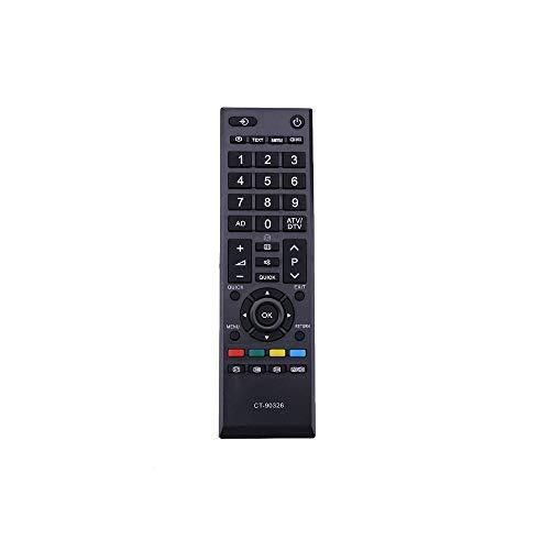 Reemplazo CT-90326 Mando Toshiba para Toshiba Universal TV Compatible con Control Remoto para Toshiba TV