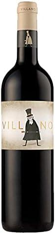Vino Tinto Villano de 75 cl - D.O. Zamora - Bodegas Viñas del Cenit (Pack de 1 botella)