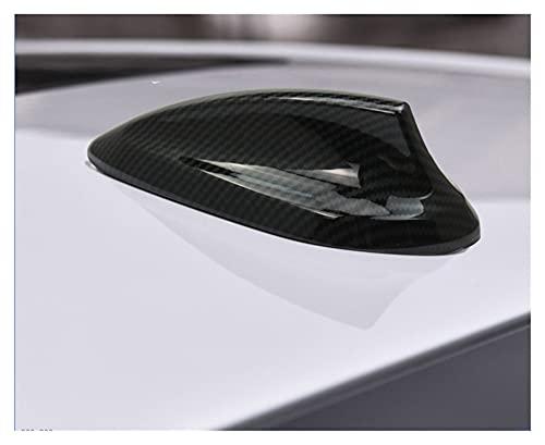 ZHANGHUA Estilo de Coches Antena de Fibra de Carbono Antena de Aleta de Tiburones Aéreas de Ajuste de Ajuste para BMW 1 2 3 4 Series F20 F21 F45 F30 F34 F31 F32 F36 x5 F15 F16