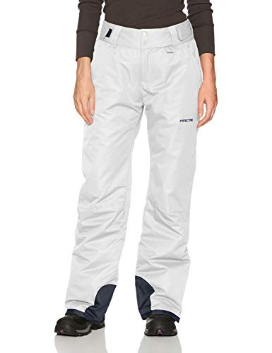 Arctix Women's Insulated Snow Pants, White, Small/Regular
