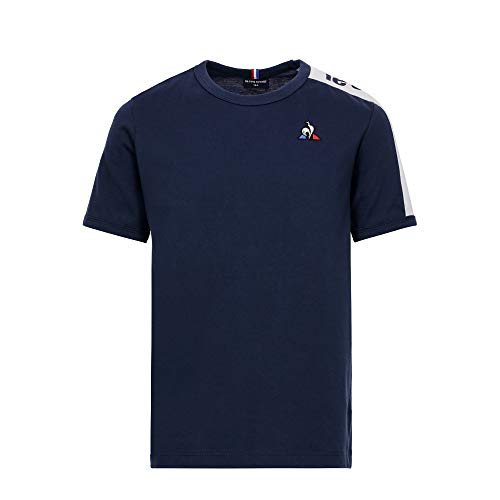 Le Coq Sportif Bat tee SS N°1 Camiseta, Unisex niños, Dress Blues, 14 años