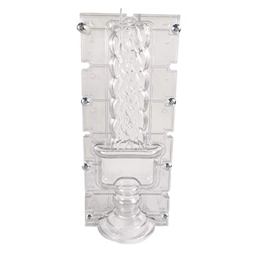 MERIGLARE Candle Mold Handmade Homemade for Home Bedroom Living Room Decor Arts Gifts
