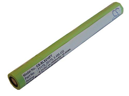 vhbw batería para Streamlight SL20-X-LED, Ultrastinger por 20175, 5.486.432, 77175, 9926J