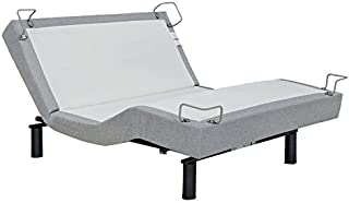 reverie 5D Adjustable Bed Base with Wireless Massage Wall Snuggler Zero Gravity, Queen