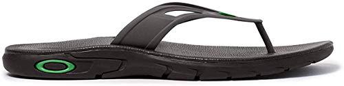 Oakley Ellipse Mens Flip Flop Sandals Black 13 USA
