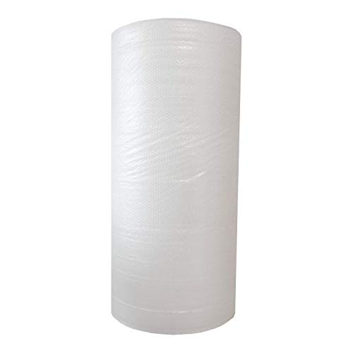 ZS PACK - Rollo de Plastico de Burbujas Para Embalar de 1,6 Metros de Ancho x 150 Metros Largo - 240m2 de Papel Burbujas Transparente [Triple Capa & Burbuja Densa - 1cm]