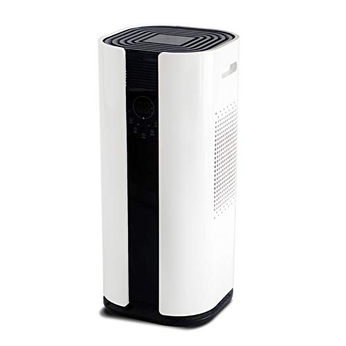Eurgeen Portable Touch-screen 50 pints/Day Dehumidifier Dryer Whisper quiet for Home Office Basement