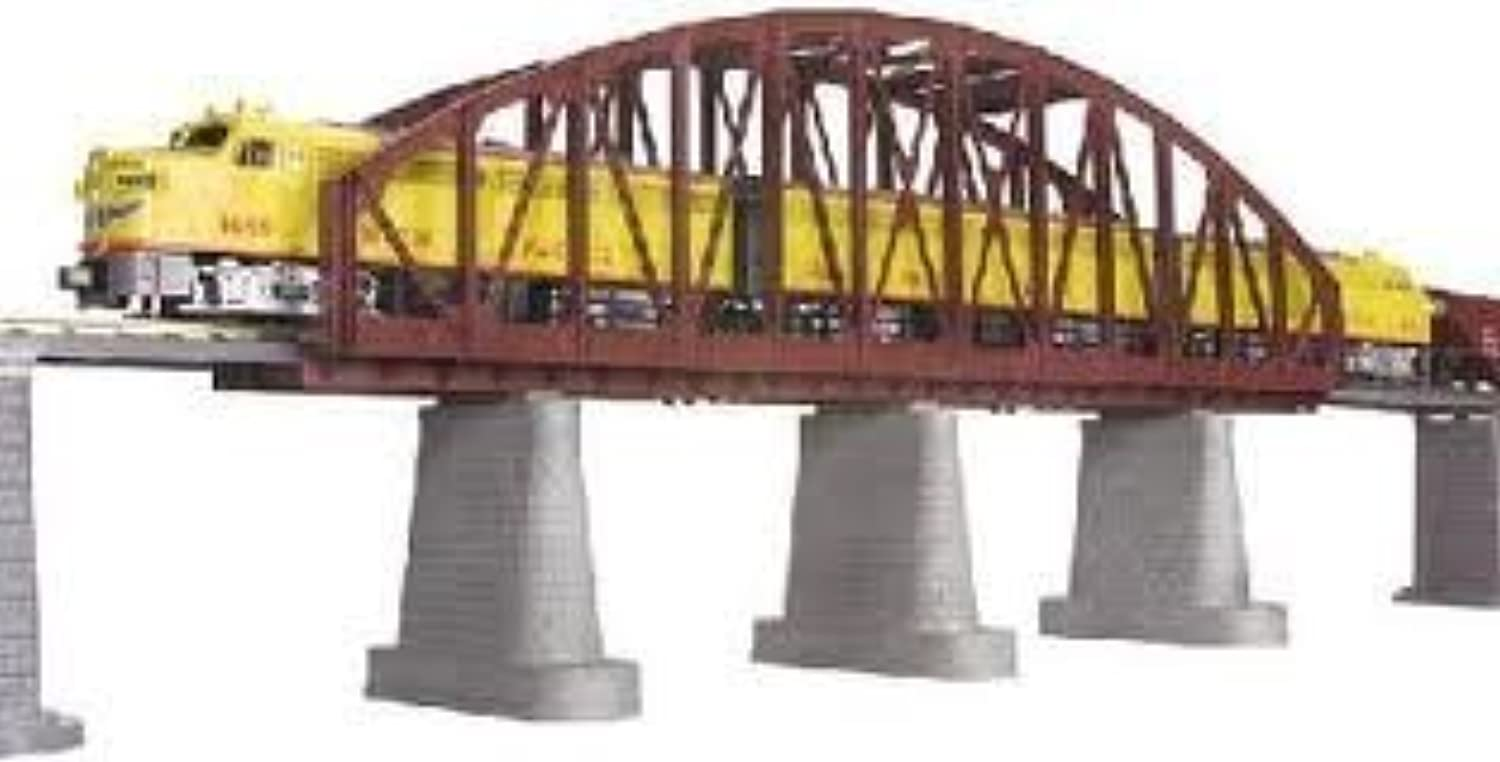 O Steel Arch Bridge, Rust by MTH TRAINS; MIKES TRAIN HOUSE