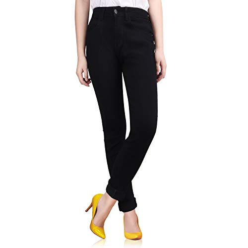 know Women's Skinny Jeans,Totally Shaping Skinny Jeans with 5 Pocket Dark Denim Jeans,Precision Stitching and Super Stretch (XL)