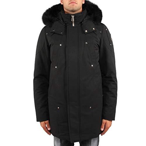 Moose Knuckles Men 's Down Stirling Parka カラー: ブラック