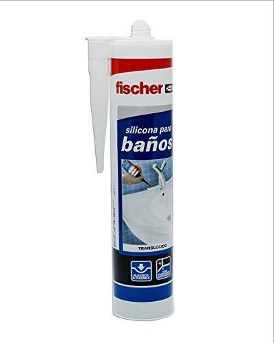 fischer 20819, Silicona baños transparente, Formato Cartucho