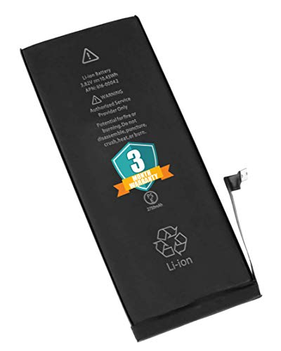The Black Store OriginaI Battery for Apple iPhone 6S Plus A1634 A1687 A1699 {2750mAh} with 3 Months Warranty