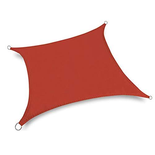 QI-CHE-YI Quadratischer Sonnenschirm Segel-Baldachin, 98% UV-Garten-Terrasse-Baldachin, verwendet für den Garten von Outdoor Terrasse Garten,2x2.5m