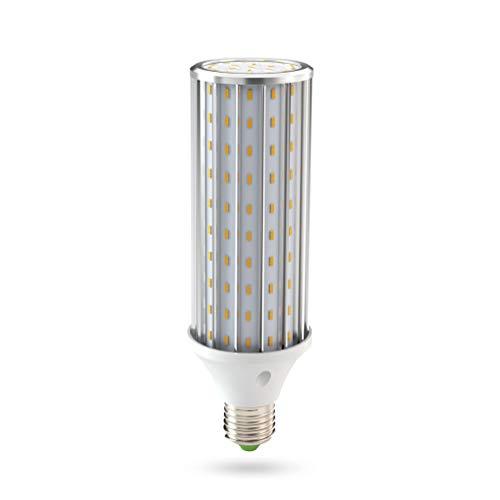 Bombilla LED E27, 45W LED maíz Bombilla 4500K Blanco Natural, 450W Incandescente Bombillas Equivalentes 4450lm 140x5630SMD No Regulable, Edison Bombillas de maíz (45W Blanco natural)