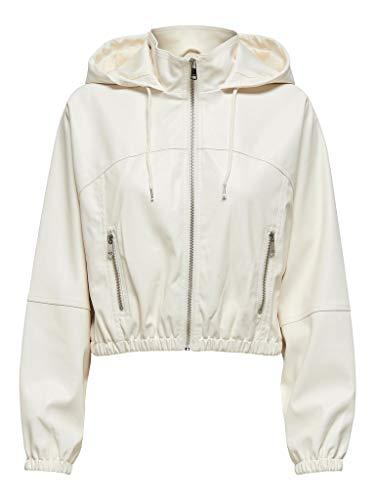 Only Chaqueta para Mujer 15220439-onlmon White Alyssum M