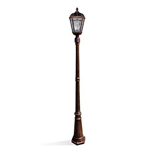 Gama Sonic Royal Bulb Solar Lamppost