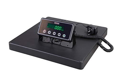 DZD DJ-SB Plattformwaagen, Baureihe mit Modellen bis 300kg und ab 0,01kg Feinmessbereich. Batterie & Netzbetrieb (DJSB-300B: Bis 300kg mit 3 Messbereichen ab 0,02kg)