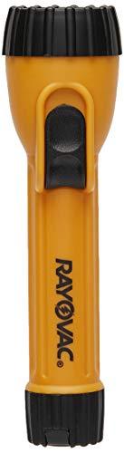 Rayovac Industrial 2AA Flashlight with Krypton Bulb, I2AA-B 2AA