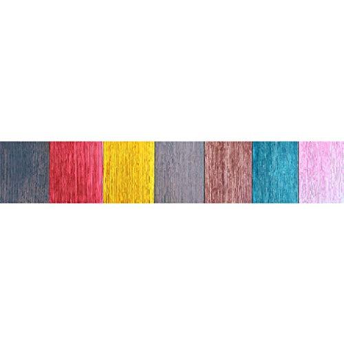 Lianlili 5 unids/Set de la Escalera de la baldosa Pegatinas de Piso Autoadhesivo Impermeable PVC Etiqueta de PVC Sala de Estar Cerámica Floral Pegatinas Decoración del hogar