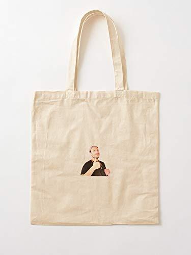 deadw Leone Its Bon Test Alive Ba Appetit Brad Canvas Tote Umhängetasche Stylish Shopping Casual Bag Faltbare Reisetasche