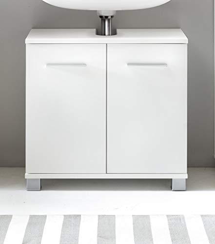 WC-Unterschrank Bad-Schrank Weiss Waschbecken Unterschrank Weiss - (3558)