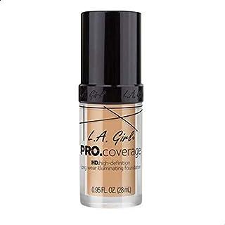 L.A. Girl Pro Coverage Liquid Foundation, Natural, 0.95 Fl Oz