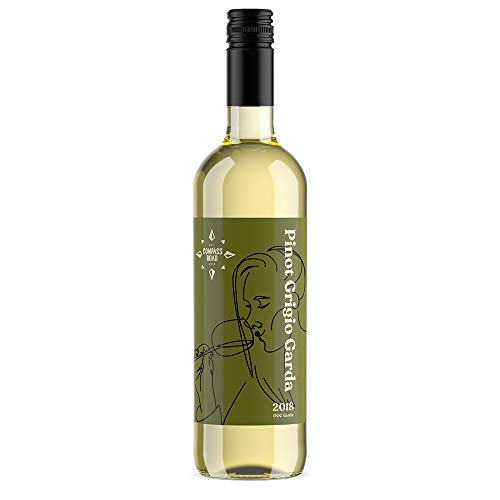 Amazon Brand - Compass Road Pinot Grigio, DOC Garda (Case of 6)