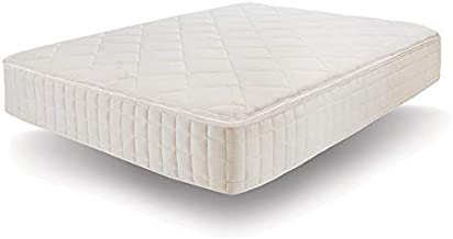 Naturepedic Serenade Organic Mattress, Cushion Firm Hybrid Mattress with Organic Latex and Encased Coils, King