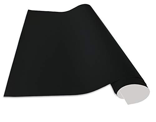 Cuadros Lifestyle Selbstklebende und magnetische Vinyl- Tafelfolie/Magnetafel/Magnetfolie, Farbe:Schwarz, Größe:50x100 cm