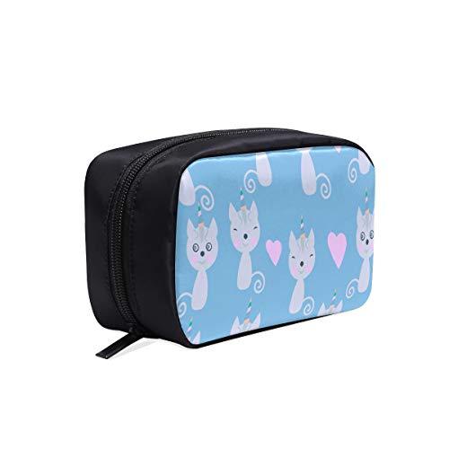 Toddler Fashion Bag Cute Surprise Warm Animal Pet Chat Sac À Cosmétiques Sac De Toilette Pour Femmes Nouveau Sac À La Mode Sac Sacs À Cosmétiques Multifonction Cas Trousse De Toilette Pour Enfants