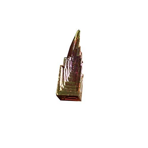AILIUQIEN Naturel Métal Métal Stone Cristal Cristal Bismuth Minerais Rough Pyramid Cadeau Minéral Minéral Quartz Naturel