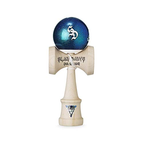 Krom Kendama Slaydawg Da Gang Moon Dawg – Strong and Durable – Enhanced Cognitive Skills – Improved Balance, Reflexes, and Creativity – Kendama Model Pro Made for Beginners and Experts