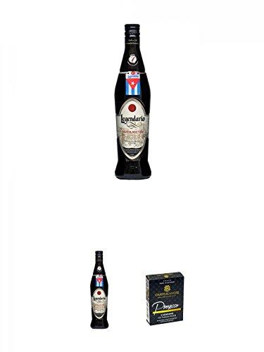 Egendario Elixir de Buba 7 Jahre 0,7 Liter + Egendario Elixir de Buba 7 Jahre 0,7 Liter + Chateau du COQ Kondom 3er Packung