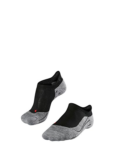 FALKE Damen Laufsocken RU4 Invisible W SO-16708, 1 Paar, Schwarz (Black-Mix 3010), 39-40