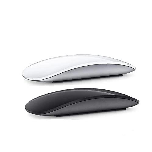 Ratón Inalámbrico Recargable Silent Gaming Mouse Óptico Accesorios Portátiles Negro