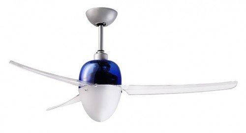 SWING 127 - Ventilador de techo, color azul