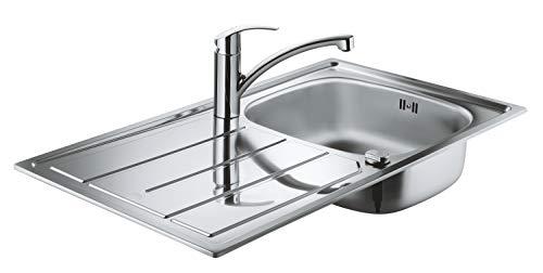 GROHE 31550SD0 Plumbing_Fixture, Acero inoxidable, Brushed