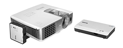 BenQ W1070+W 3D Wireless DLP Projektor (Wireless Full HD Kit, 3D über HDMI, Full HD, 1.920x1.080 Pixel, 2.200 ANSI-Lumen, Kontrast 10.000:1, Vertical Lens Shift, 2x HDMI, 1x MHL, Smart Eco) weiß