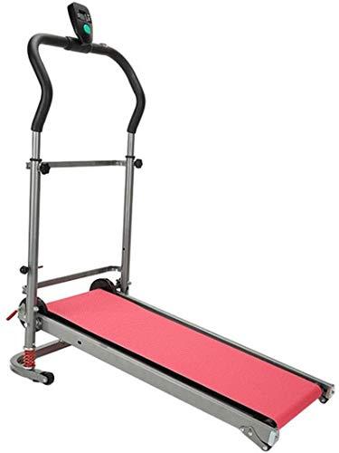 YLJYJ Upright Exercise Bikes Foldable Mechanical Treadmill Tilt Walking Exerciser with Led Display Suitable for Men Women The Elderly Children Sports and Fitness spin bikection Home Spinning bikebic