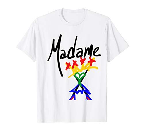 Madame X Rebel Pride Rainbow T-shirt for Men, Women, S to 3XL