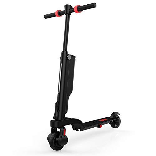 Thole Patinete Plegable NiñO EléCtrico Tipo Scooter con Luz Led Bocina Bluetooth