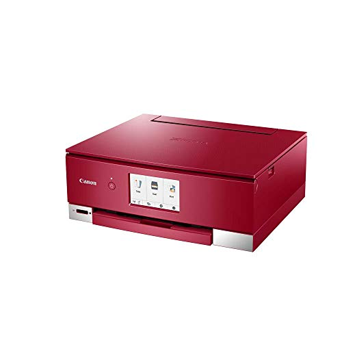Impresora Multifuncional Canon PIXMA TS8352 Roja Wifi de inyección de tinta, roja