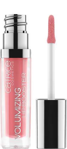 Catrice Volumizing Lip Booster, Lipgloss, Lip Gloss, Nr. 100 Meet Me At Coral Bay, pink, schützend, glättend, pflegend, scheinend, natürlich, strahlend, schimmernd, vegan, ohne Alkohol (5ml)