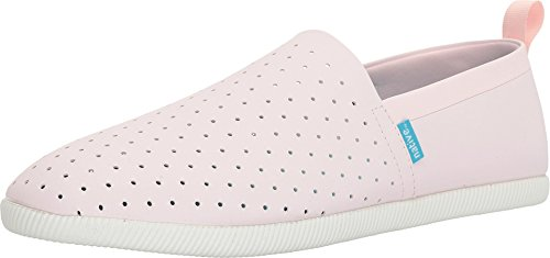 Native Shoes , Baskets Mode pour Femme Rose Rose - Rose - Milk Pink/Shell White,
