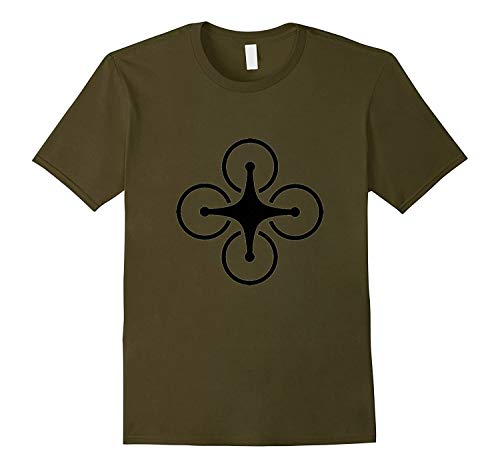 Dron.e T-Shirt Pilot Flying Quadco.pter UA.V Strike Photo-AN.Z - T Shirt For Men and Woman.