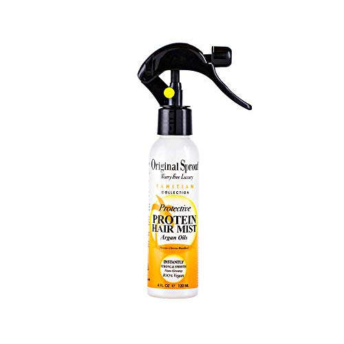 Original Sprout Protective Protein Mist. Vegan Strengthening and Conditioning Treatment for Classic Hair Care 4 oz.